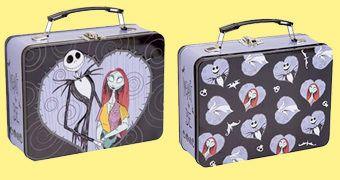 Lancheira The Nightmare Before Christmas com Jack e Sally