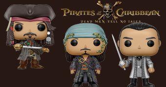 Bonecos Pop! Piratas do Caribe: A Vingança de Salazar