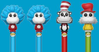 Canetas Funko Pop! Pen Dr. Seuss