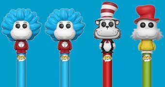 Canetas Funko Pop! Pen Dr. Seuss