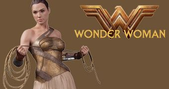 Estátua Wonder Woman Training Outfit 1:6 (Gal Gadot) Esculpida por James Marsano