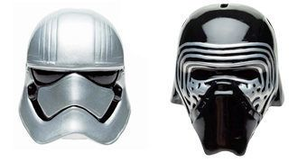 Cofres Capacetes Star Wars: Kylo Ren e Capitã Phasma (May the 4th be with You!)