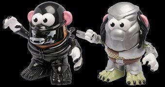 Sr. Cabeça de Batata Alien e Sr. Cabeça de Batata Predador!