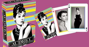 Baralho da Atriz Audrey Hepburn