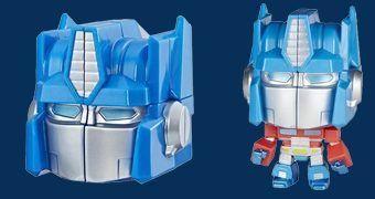 Cubo de Rubik Transformers: Optimus Prime Rubik's Crew Puzzlehead