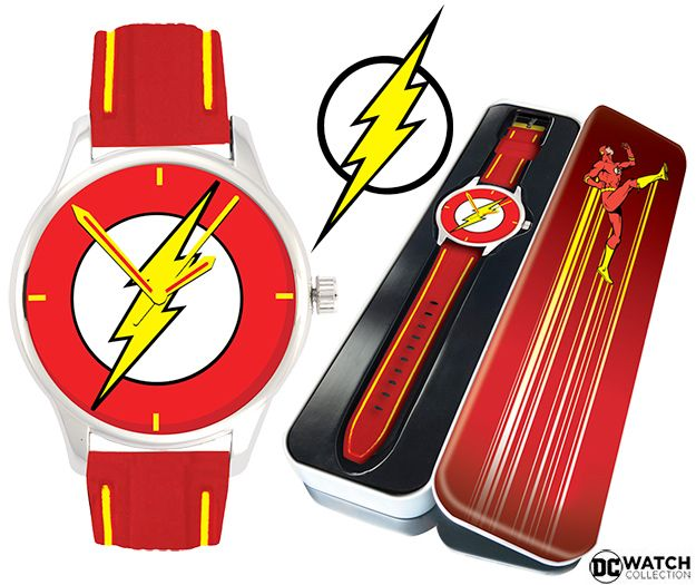 Relogio-de-Pulso-The-Flash-Comic-Logo-DC-Watch-Collection-01