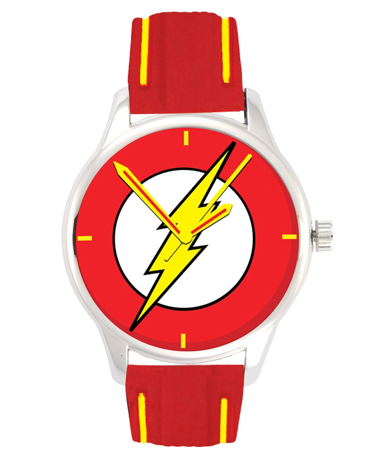 Relogio-de-Pulso-The-Flash-Comic-Logo-DC-Watch-Collection-02