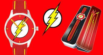 Relógio de Pulso DC Watch Collection: The Flash