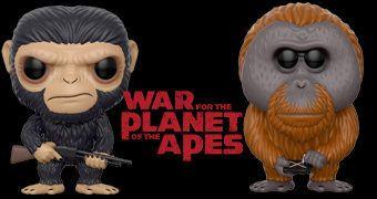 Bonecos Pop! Planeta dos Macacos: A Guerra