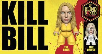 "Mini-Figuras Quentin Tarantino ""Kill Bill Volume 1"" TITANS Mini (Blind-Box)"