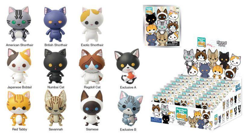 Chaveiros-Racas-de-Gatos-Cats-3D-Foam-Key-Ring-Collection-04