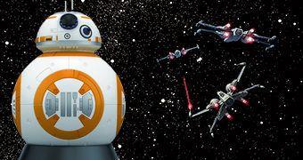 Projetor de Estrelas Star Wars Homestar BB-8 Planetarium