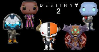 Bonecos Pop! do Game Destiny 2