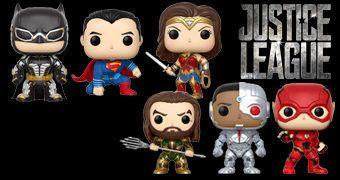 Bonecos Pop! Liga da Justiça, o Filme