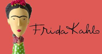 "Frida Kahlo ""Art History Heroes"" Action Figure!"