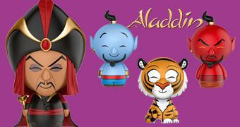 Bonecos Dorbz Aladdin (Disney)