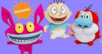 Bonecos de Pelúcia Nickelodeon Anos 90!