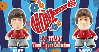 Bonecos The Monkees TITANS com Monkeemobile
