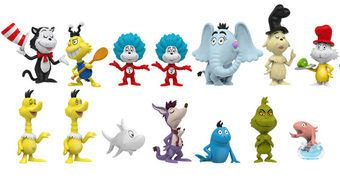 Dr. Seuss Mystery Minis – Mini-Figuras Funko Blind-Box