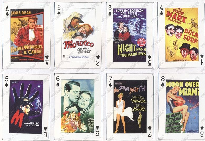 Baralho-Piatnik-Classic-Movie-Poster-Playing-Cards-03