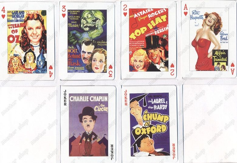 Baralho-Piatnik-Classic-Movie-Poster-Playing-Cards-09