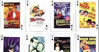 Baralho Pôsteres de Filmes Clássicos dos Anos 40 e 50