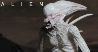 "Neomorph Branco de Alien: Covenant – Action Figure 7"" Neca"