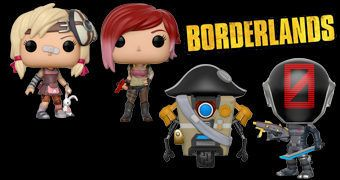 Bonecos Funko Pop! do Game Borderlands Série 2