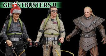 "Action Figures Ghostbusters II Movie Select 7"" Série 6"