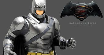 Cofre Busto Batman com Armadura (Batman Vs Superman)