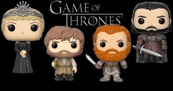 Game of Thrones Pop! Série 7: Rainha Cersei, Tyrion, Jon, Bran, Tormund e Gigante Wun Wun