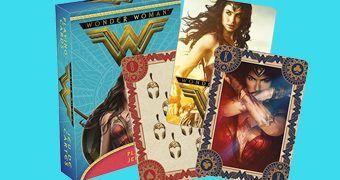 Baralho Wonder Woman Movie com Cenas do Filme da Mulher Maravilha