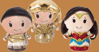 Bonecas de Pelúcia Wonder Woman Movie itty bittys da Hallmark