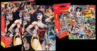Quebra-Cabeças Mulher Maravilha nos Quadrinhos