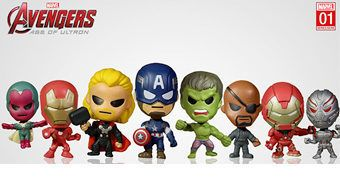 Bonequinhos Marvel Original Mini's Minis Bobble Heads