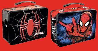 Lancheira de Lata Spider-Man