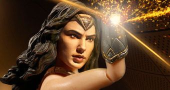 Action Figure Wonder Woman (Gal Gadot) One:12 Collective da Mezco