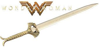 Abridor de Cartas Espada Matadora de Deuses da Mulher Maravilha (Wonder Woman Movie)