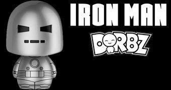 Boneco Dorbz Iron Man Mark I