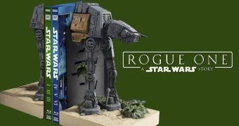 AT-ACT Walker Bookends – Apoio de Livros Star Wars Rogue One