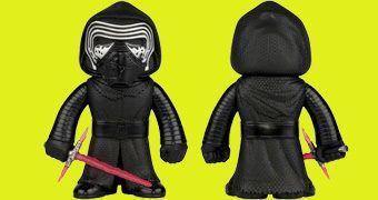 Kylo Ren Hikari Sofubi – Boneco Funko Star Wars em Estilo Japonês