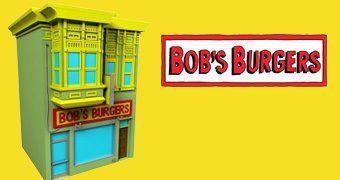 Cofre Lanchonete Bob's Burgers