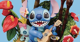 Estátua/Diorama Lilo & Stitch Disney D-Select