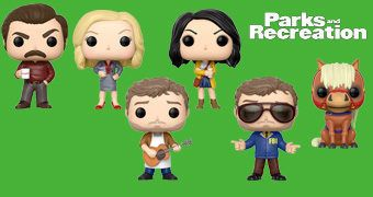 Bonecos Pop! da Série Parks and Recreation
