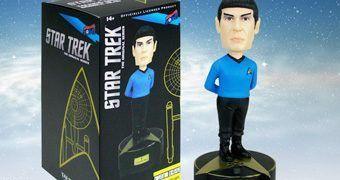 Boneco Bobble Head Star Trek Falante Sr. Spock (Leonard Nimoy)