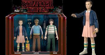 "Stranger Things Action Figures Retro Funko (3.75"")"