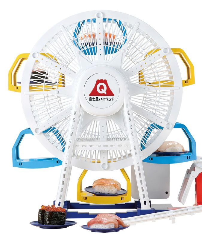 Sushi-Ferris-Wheel-Roller-Coaster-Fuji-Q-Serving-Sushi-Toy-06