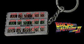 Chaveiro De Volta para o Futuro II: Time Circuit (Relógio de Tempo)