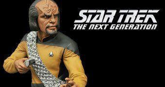 Cofre Star Trek Nova Geração: Lt. Worf Bust Bank