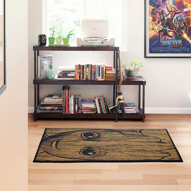 tapete guardi es da gal xia baby groot i am rug blog de brinquedo. Black Bedroom Furniture Sets. Home Design Ideas